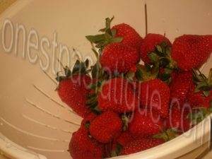 Dome panna cotta the matcha fraises_etape 4