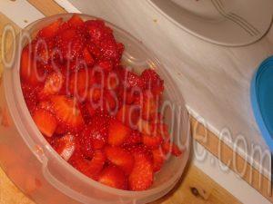 Dome panna cotta the matcha fraises_etape 5