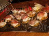 bouchees courgette mozzarella jambon fume_photo wall