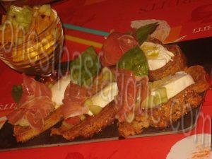 bruschetta italienne fraicheur